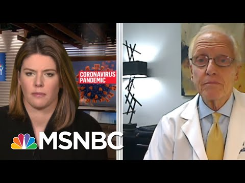 Dr. Schaffner: Wearing A Mask 'Not Political. The Virus Doesn't Care' | MTP Daily | MSNBC