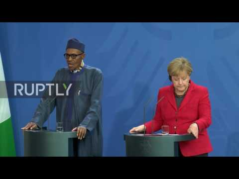 Germany: My wife belongs in the kitchen - Buhari