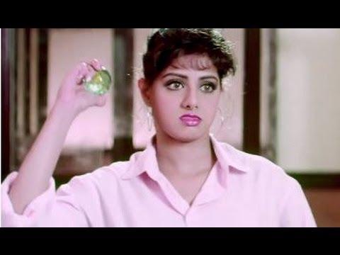 Kshana Kshanam Movie Scenes - Sridevi grumbling about her boss - Venkatesh, Sridevi