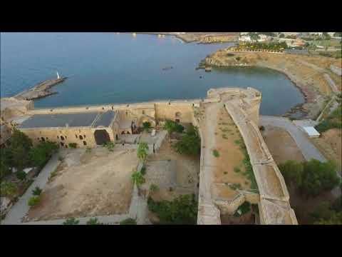 Kuzey Kıbrıs Türk Cumhuriyeti Havadan Çekim Girne