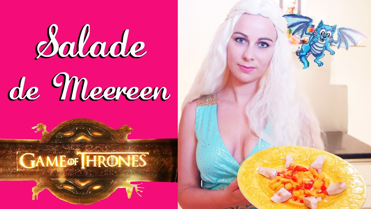 Salade poulet mangue cuisine game of thrones virginie - Virginie fait sa cuisine ...