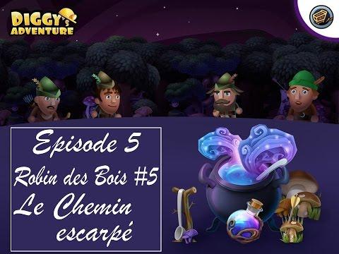 Diggy's Adventure Episode 5 - Robin des Bois #5 - Volons les riches pour donner aux pauvres!