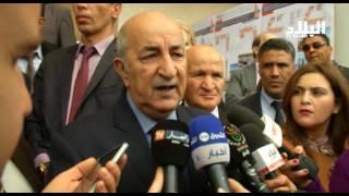 عبد المجيد تبون / وزير السكن  و العمران و التجارة بالنيابة  - elbiladtv-