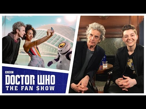EXCLUSIVE Peter Capaldi & Brian Minchin Interview | The Aftershow | Doctor Who: The Fan Show