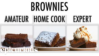 Download 4 Levels of Brownies: Amateur to Food Scientist   Epicurious Mp3 and Videos