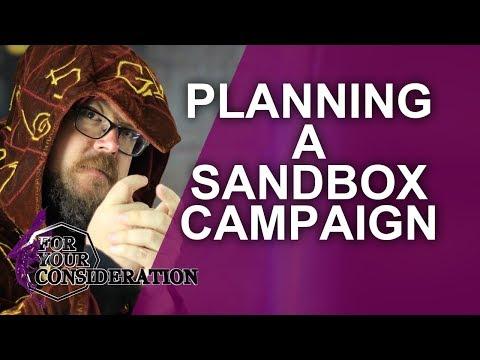 How To Plan A D&D Sandbox Campaign
