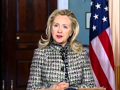 Secretary Clinton Delivers Remarks With German Foreign Minister Westerwelle