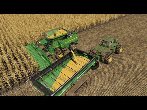 Lone Oak EP#112 | Harvest, Manure | FS19 Timelapse | Farming Simulator 19 Timelapse |