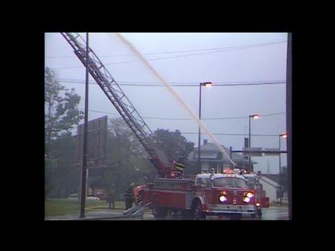 St. Mary's Catholic Church fire video