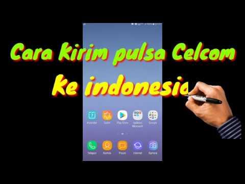 Cara Kirim Pulsa Celcom Ke Indonesia Youtube
