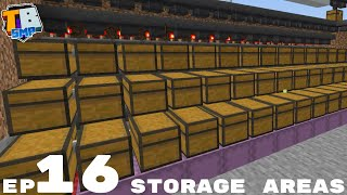 Storage Room And Automatic Wool Storage - Truly Bedrock Season 2 Minecraft SMP Episode 16