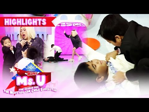 Vice plays an action skit with Yorme and Carlo   It's Showtime Mini Miss U