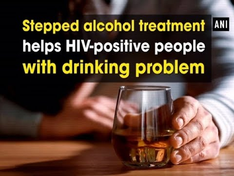Stepped alcohol treatment helps HIV-positive people with drinking problem