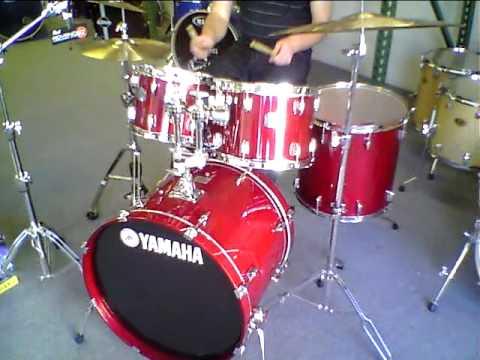 Yamaha Stage Custom Drum Set From California Percussion Llc Youtube