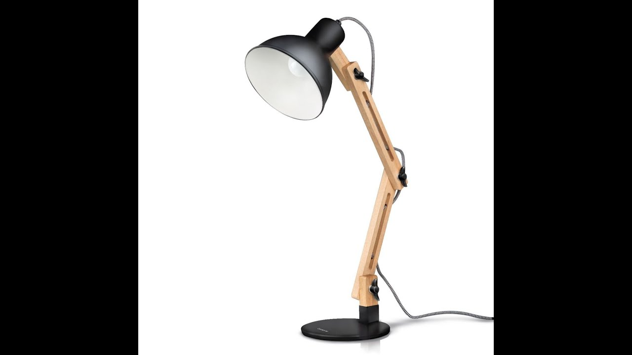 tomons scandinavian swing arm desk lamp youtube. Black Bedroom Furniture Sets. Home Design Ideas