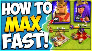 Secret to the Fast Hero Upgrades | How to Max Your Heroes in Clash of Clans