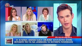 Youweekly.gr: Η κριτική της Τίνας Μεσσαροπούλου στην Ελένη Μενεγάκη