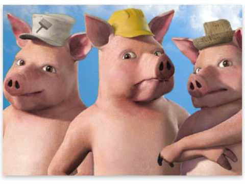 The Big Bad Musical - He Huffed and He Puffed (The Pigs' Song)
