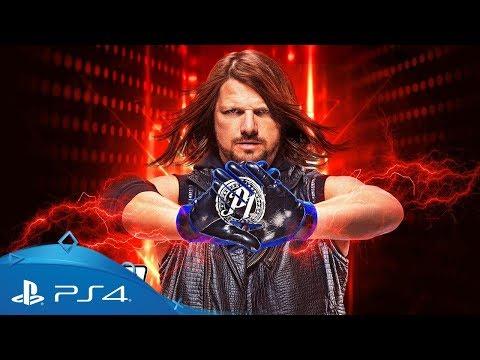 台中電玩小舖~PS4原裝遊戲片~WWE 2K19 激爆職業摔角19 珍藏版 送贈品~3890