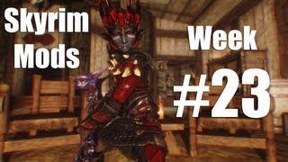 Skyrim Mods - Week #23: Moonshadow Elves, Drow Race, Become King of Riverhelm