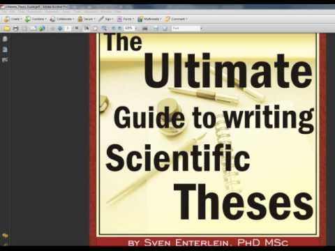The Ultimate Guide to Writing Scientific Theses - Introduction