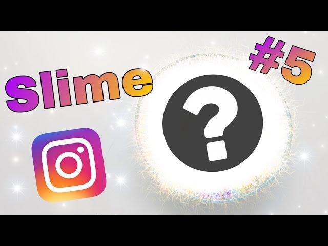 Moji Instagram followeři rozhodují jak vyrobím sliz #5