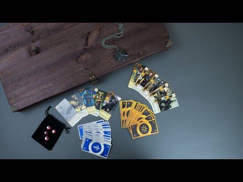 Создание карточной игры Гвинт из вселенной Ведьмак / Creating A Board Game Gwent
