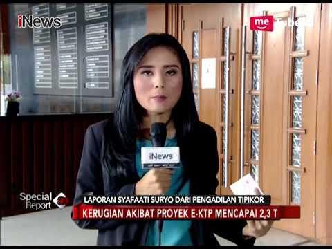 Sidang Setnov Terbaru, Agenda Pemeriksaan Saksi Kasus e-KTP - Special Report 11/01