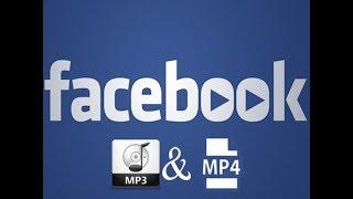 Descargar Música y Vídeos de Facebook  Sin Programas  [MP3 - MP4]  2018