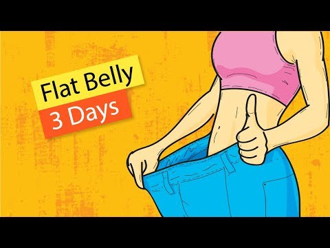 how-to-get-a-flat-belly-in-3-days?