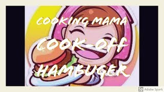 Cooking Mama Cook Off - American Food (Multiplayer)
