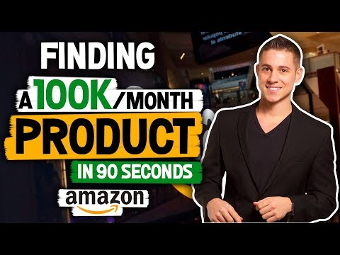 Finding A $100,000 Per Month Amazon FBA Product In 90 Seconds (IMPOSSIBLE!?)