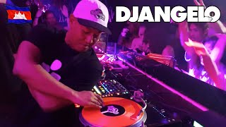 DJ ANGELO - Cuttin it up in Cambodia!