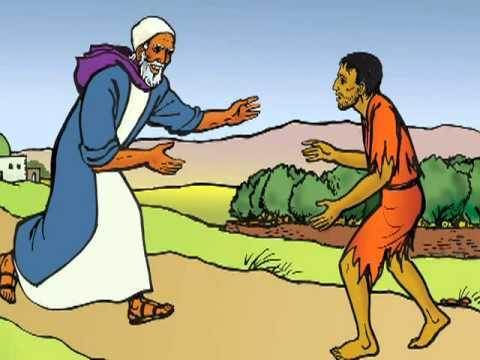 story of the prodigal son gokhana youtube rh youtube com prodigal son story clipart Prodigal Son Cartoon
