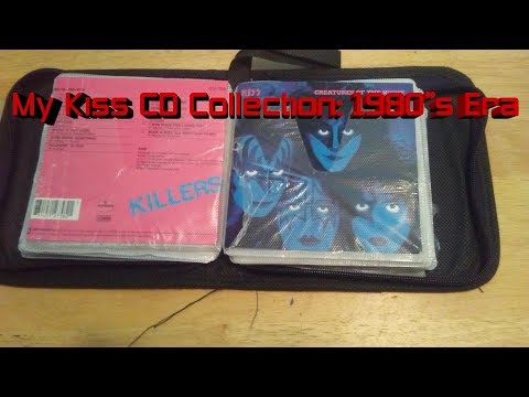 My Kiss CD Collection: 1980's Era