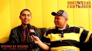 round by round James Gogue with Eddie Garza