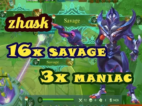 TOP GLOBAL ZHASK, 16x SAVAGE, WITHOUT DEATH