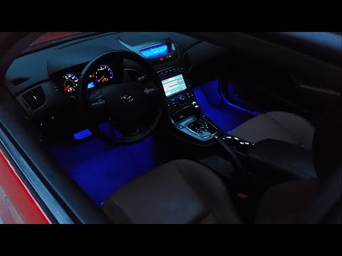 L.E.D Interior Foot Well Light Install - Genesis Coupe
