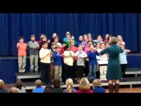 Winter Walk performed by Lower School Chorus