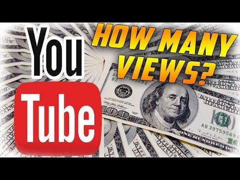 How many views do you need to make a dollar on youtube