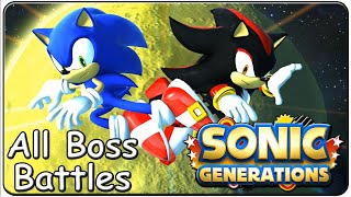 Sonic Generations All Bosses (S Rank)
