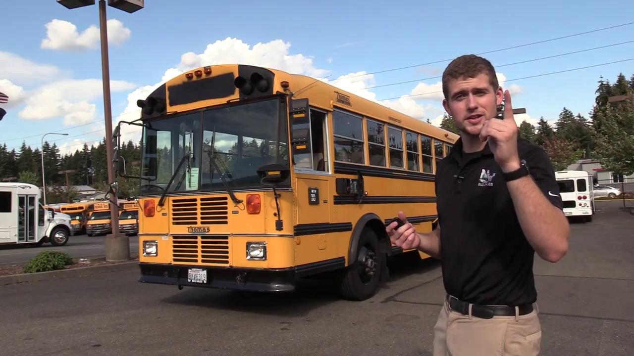 1999 Thomas FE MVP 82 Passenger School Bus for Sale - B70202