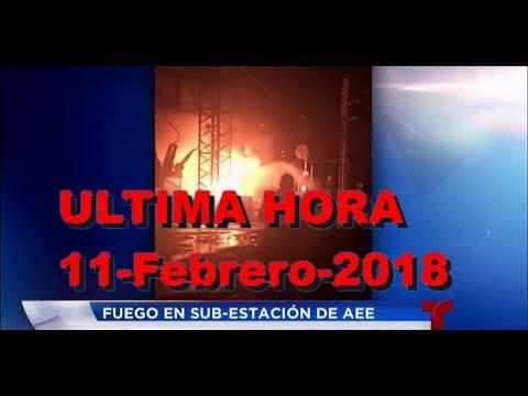 Todo sobre el apagon AEE Puerto Rico 11-Feb-18