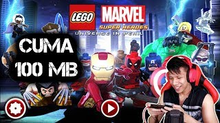 WOW Cuma 100 MB !! Lego Marvel Super Heroes di HP Android ! (NDS Emulator)