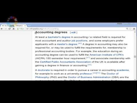Accounting degrees Wikipedia EDUCATIONPROCESSANDSUCCESS