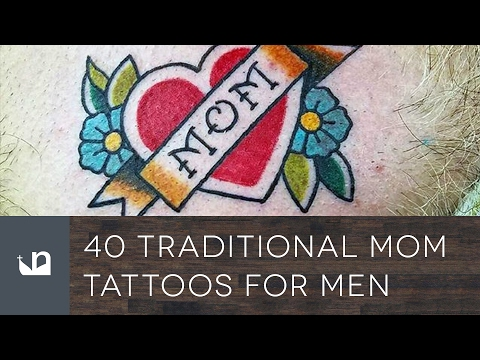 40 Traditional Mom Tattoos For Men