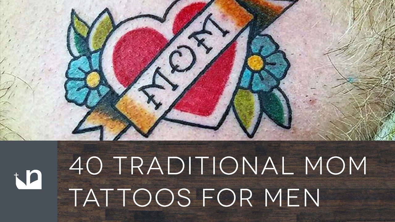 40 traditional mom tattoos for men youtube for Don t tell mom tattoo