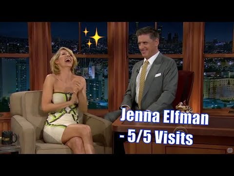 Jenna Elfman  Craig Finds Out Why He Likes Her  55 Visits In Chronological Order