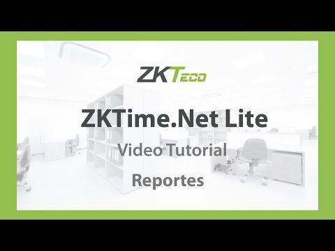 Video Tutorial: ZKTime.Net Lite (Reportes)