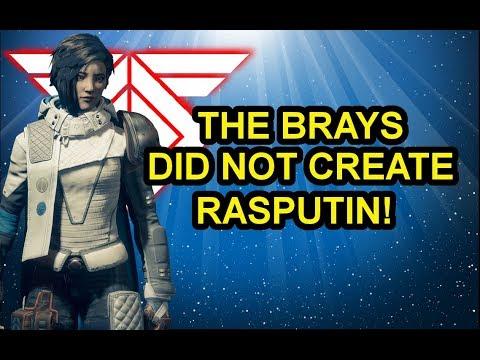 Destiny 2 Lore: Origin Story of Rasputin